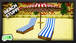 how to make a beach chair in minecraft