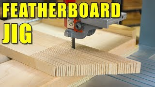 how to make a featherboard video