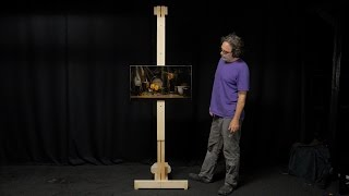 how to make a wood easel