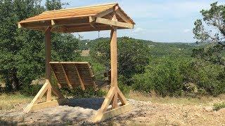 make porch swing stand