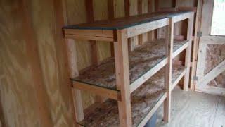 plans for garage storage shelves