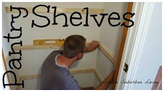plywood closet shelves