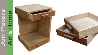 small bedside table 30cm