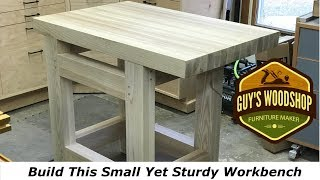 small woodworking bench plans