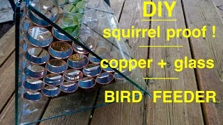 stained glass bird feeder patterns