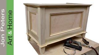storage chest plans free