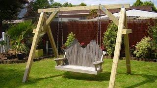 swing support frame plans