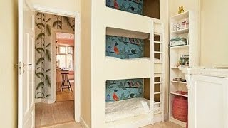 triple single bunk beds