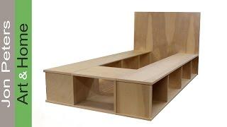 twin platform bed building plans