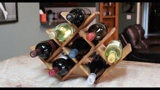wine rack shelf insert