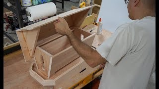 wood bird feeder plans