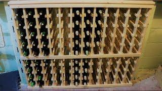 wood wine rack design plans