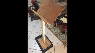 woodworking plans for a music stand