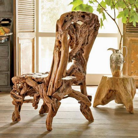 Azelea Wood Chair