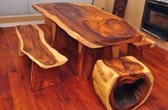 Massive Wooden Table