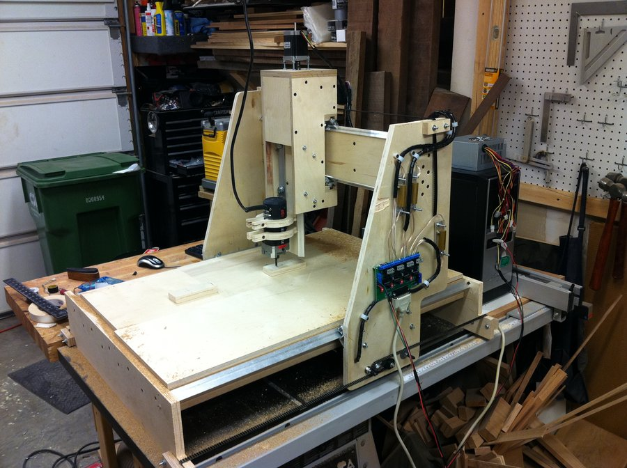 Mc Creations CNC Router Homemade