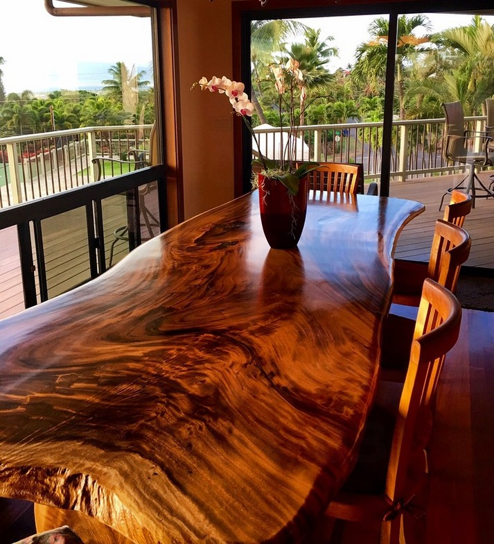 Monkeypod tree sustainable wood furniture ideas