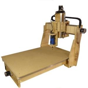 homebuilt wood carving machine