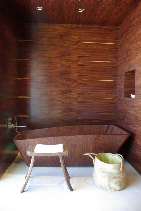 stylish and cozy wooden bathroom designs 1