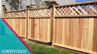 design fence panels