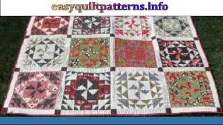easy bed quilt patterns