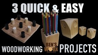 easy beginner wood projects