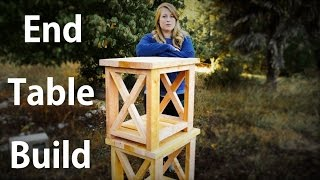 easy end table plans free