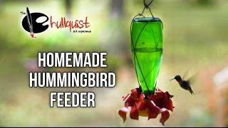easy homemade hummingbird feeder