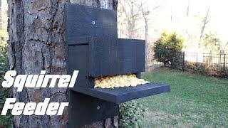 easy homemade squirrel feeders