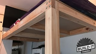 easy loft bed plans free