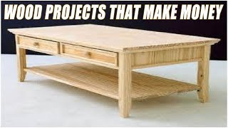 easy money making wood projects