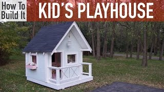 easy to build playhouse plans
