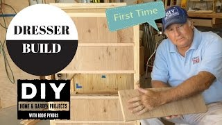 how to build dresser plans