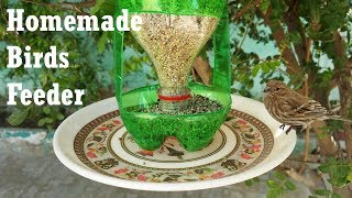 how to make a birdfeeder out of recycled materials