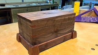 how to make a wooden box with a secret compartment